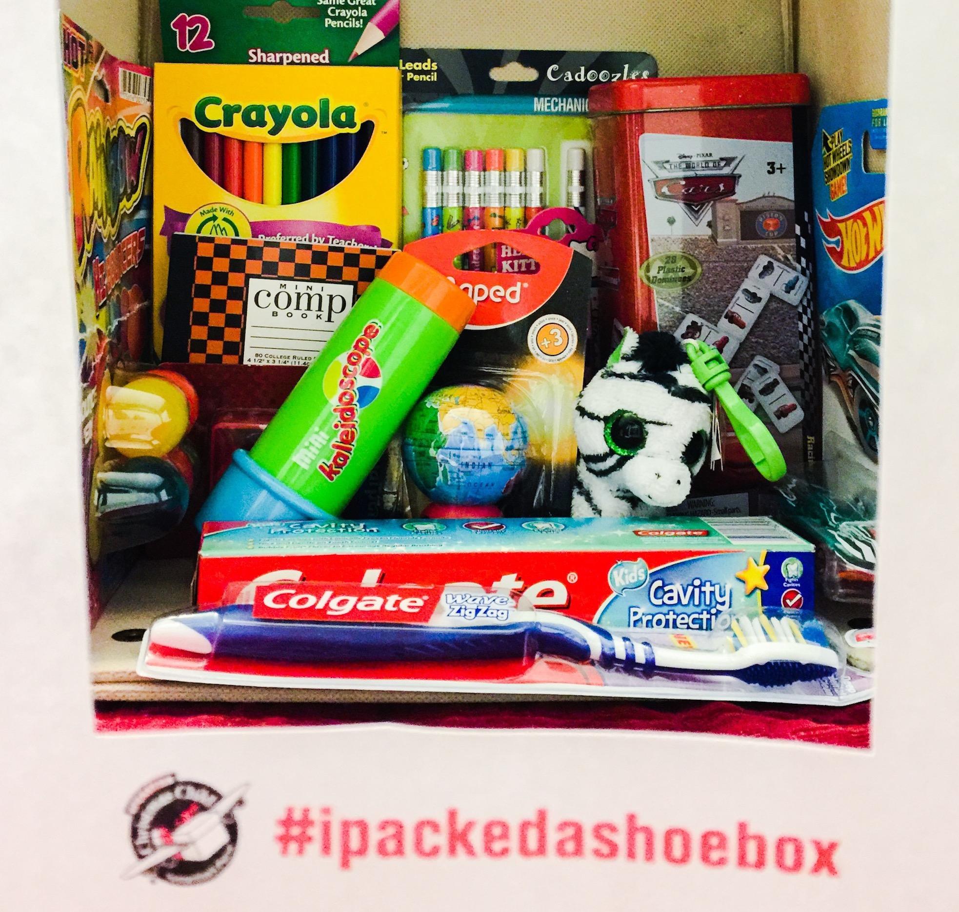 featured image - Operation Christmas Shoebox