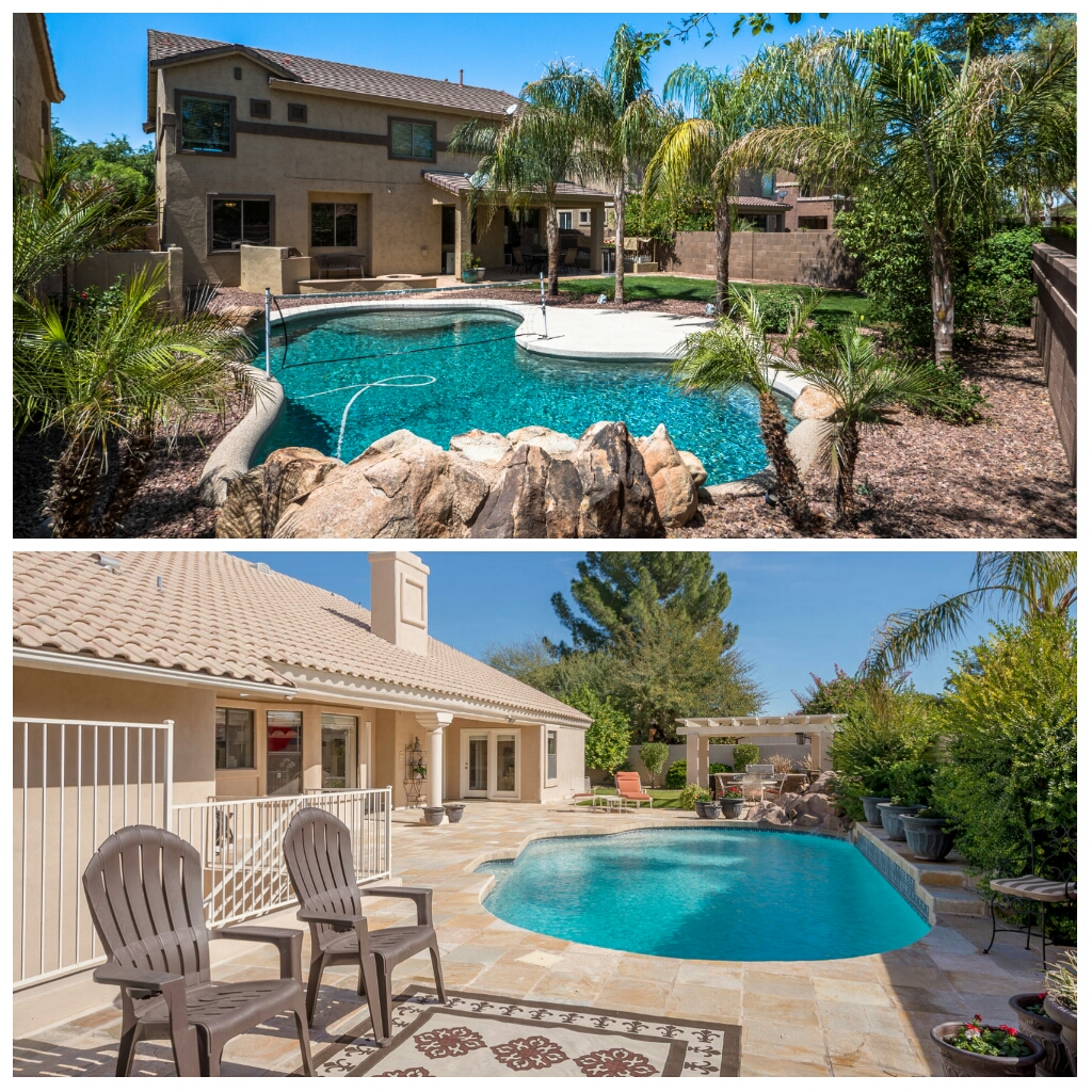 Beautiful Houses With Pools: 4/22 OPEN HOUSE For 2 Homes W/ Pools In Chandler & Mesa