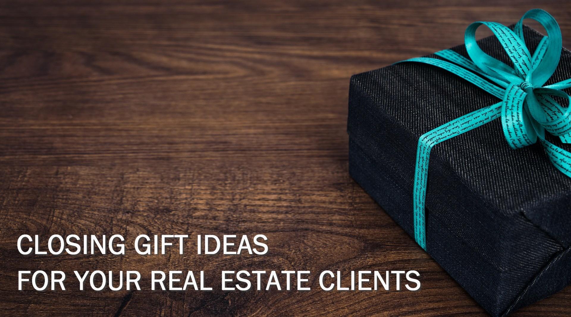 3 fun idea closing gift ideas