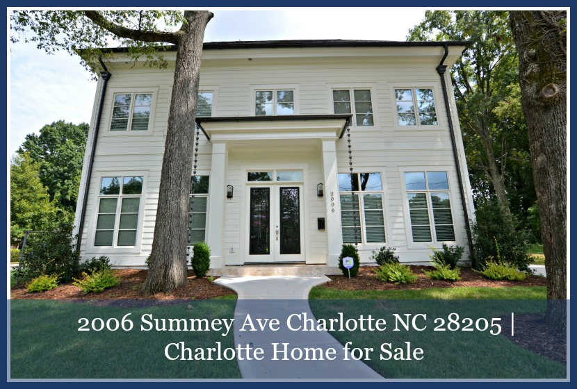 Home For Sale In Charlotte 2006 Summey Ave
