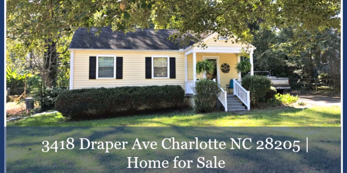 3418 Draper Ave Charlotte Nc 28205 Meadow Oaks Homes