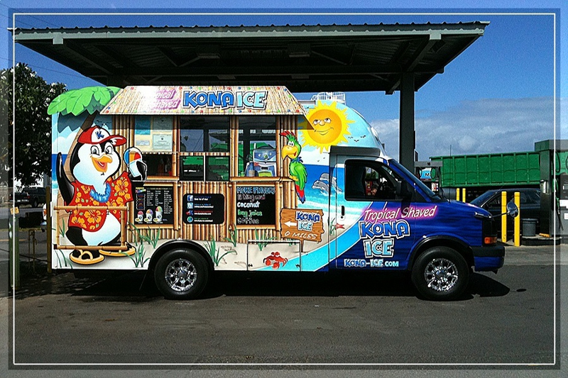 Kona Shave Ice and Ice Cream Truck
