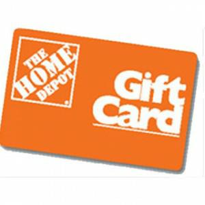Complimentary Home Depot Gift Card