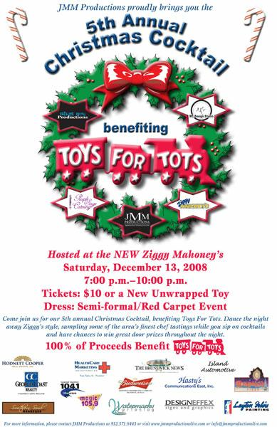 Toys For Tots Flyers : Toys for tots at the new ziggy s this weekend on saint