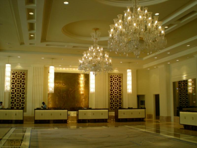 Below - Trump Towers Condos in Las Vegas Front Reception Desk