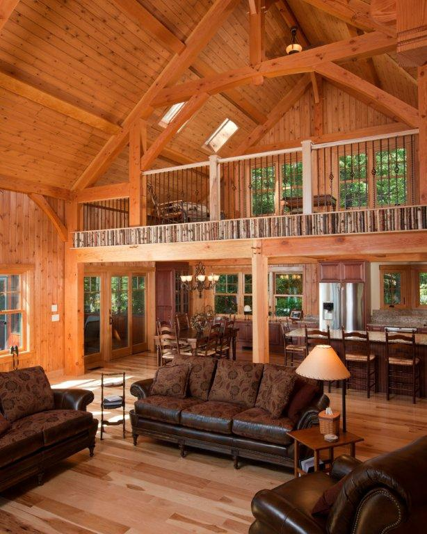 post and beam adirondack style homes white mountains of