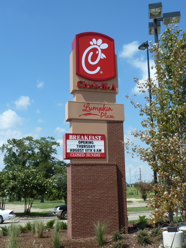 Chick fil A Opens in Lake Charles