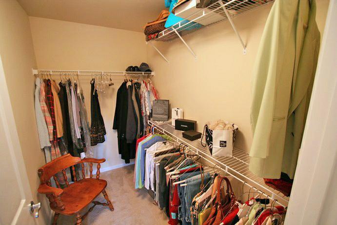 MONARCH TRACE - master closet
