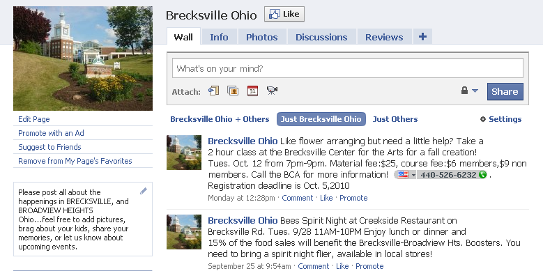 brecksville broadview heights ohio facebook page