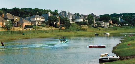 Dream of living lakeside denton county texas lakefront for Inexpensive lakefront property