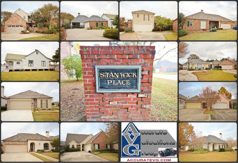 Stanwick Place Baton Rouge Home Sales 2012