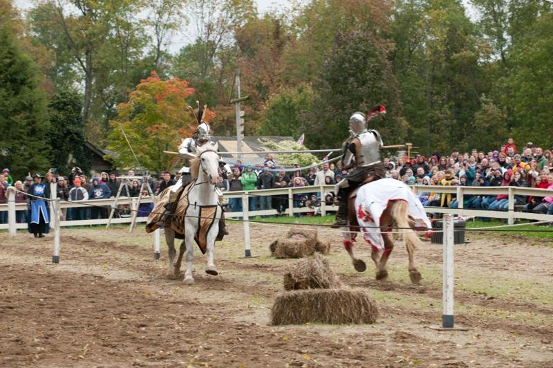 Ohio Renaissance Festival jousters