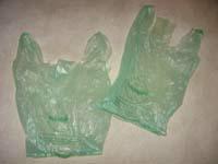 Wilton plastic bags