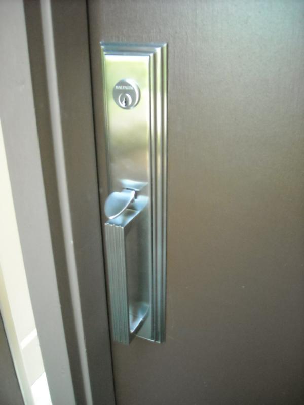 door knob after