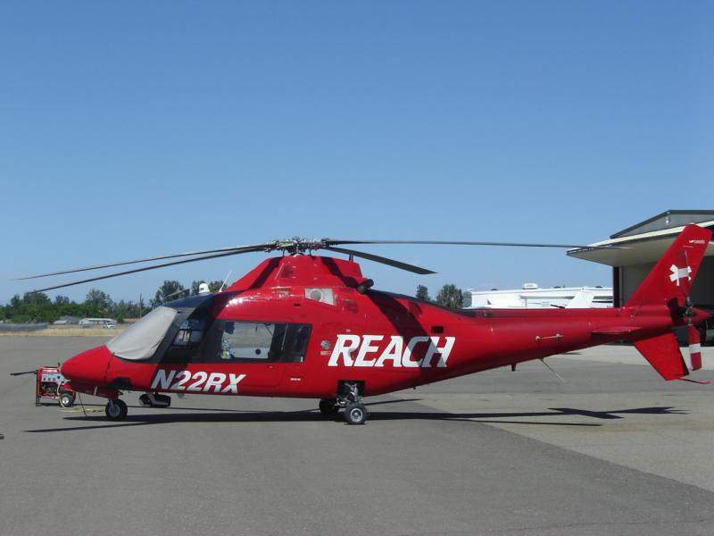 reach helicopter at lake california 68CA fly in image