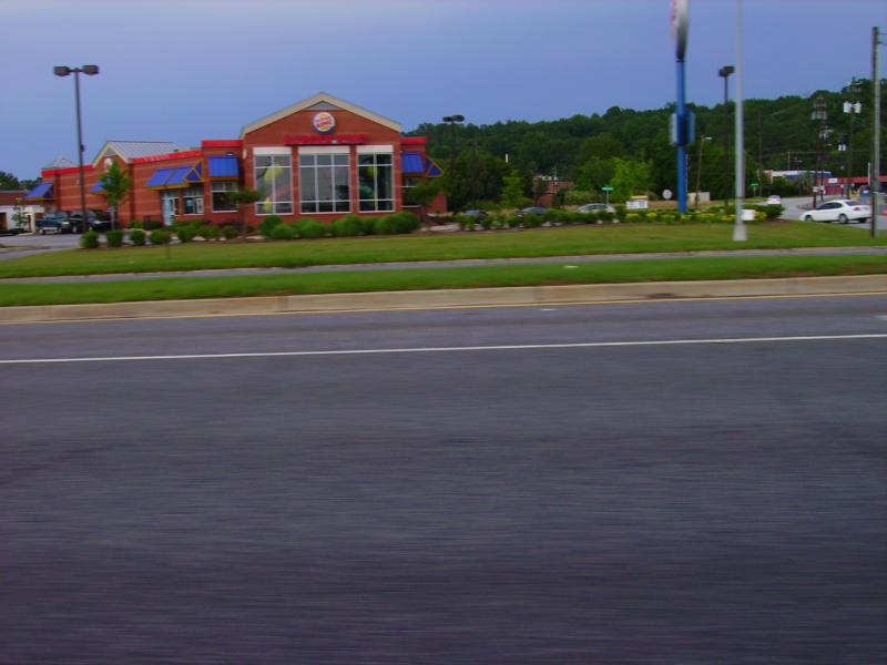 Burger King on Victory Drive, Columbus Ga home of Fort Benning.