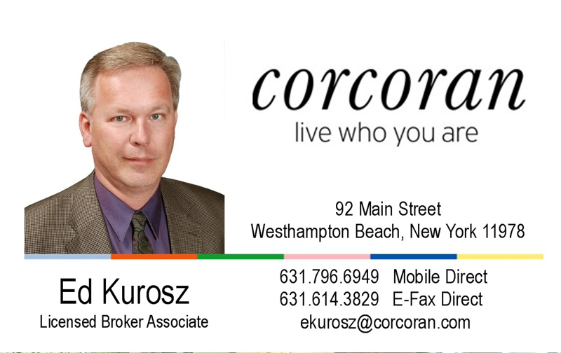 Corcoran Group Real Estate Ed Kurosz 6317966949 Westhampton Beach Quogue Remsenburg The Hamptons Waterfront Luxury
