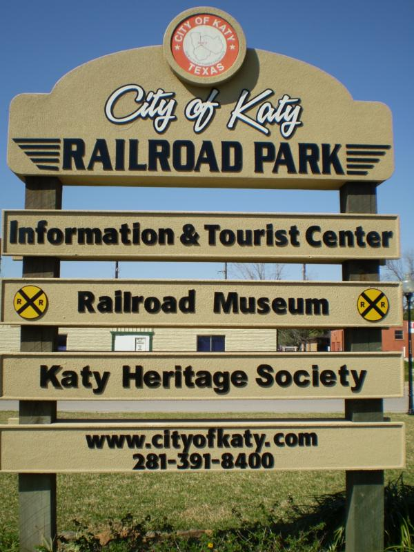 railroad museum sign