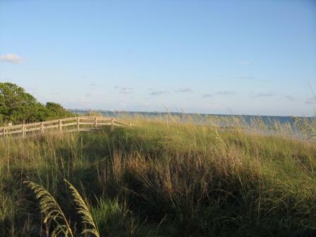 Sunset beach Treasure Island