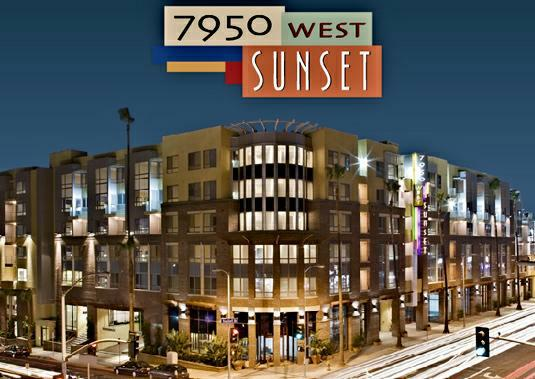 7950 West Sunset Blvd Los Angeles Ca 90046 A Luxurious New Apartment Building