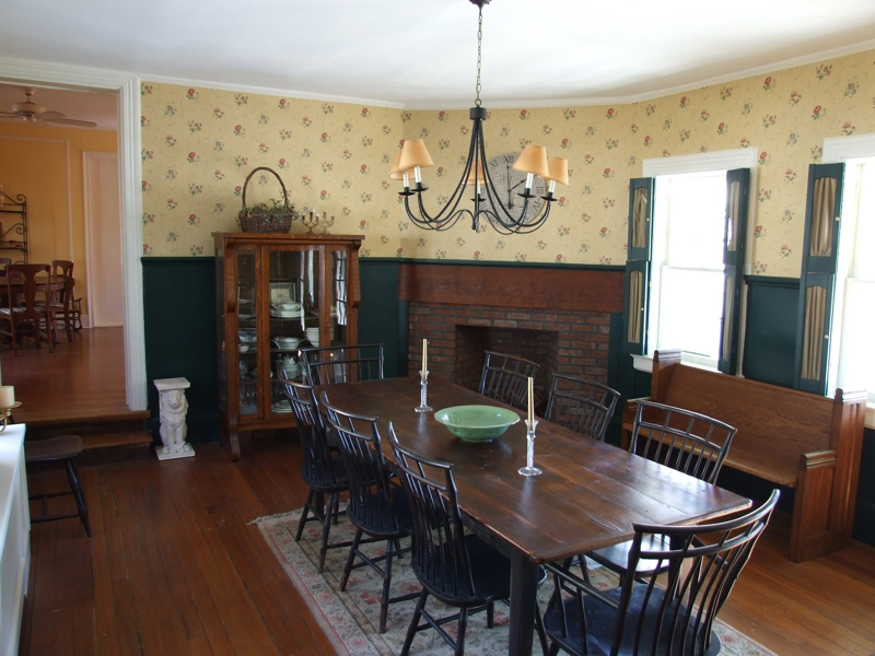 Great Dining room part of the 1720 addition