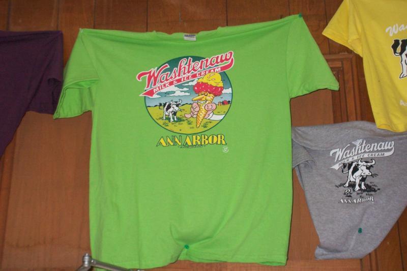 Washtenaw Dairy T shirt