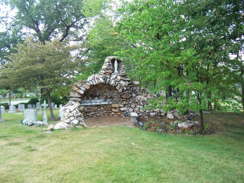 Grotto at St Mary of Sorrow