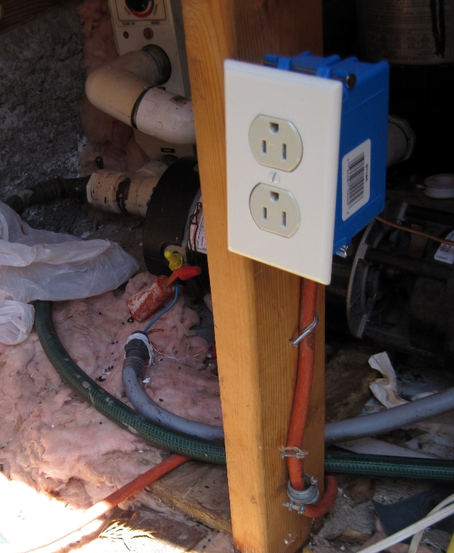 Example Of Fine Electrical Wiring Practices  Use Of