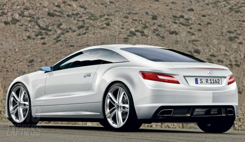 Is Mercedes Really About To Launch A Gullwing Hybrid Slk