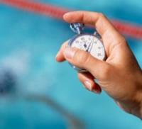 time clock at pool