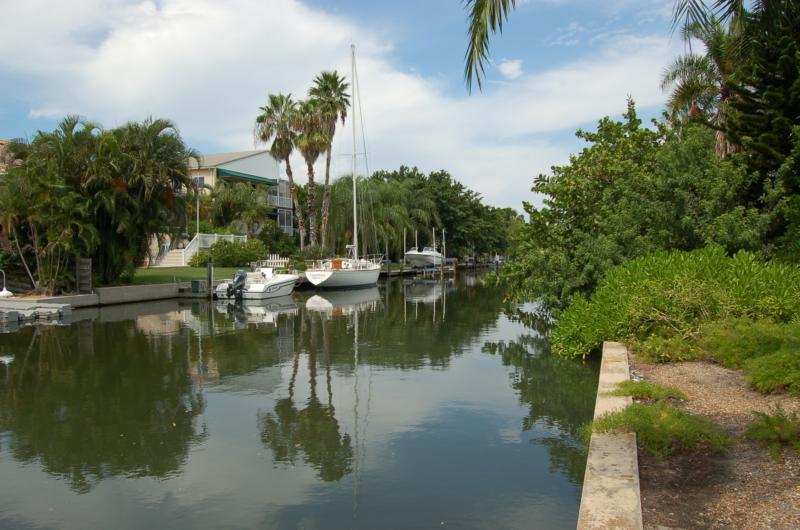 Canal on Longboat Key