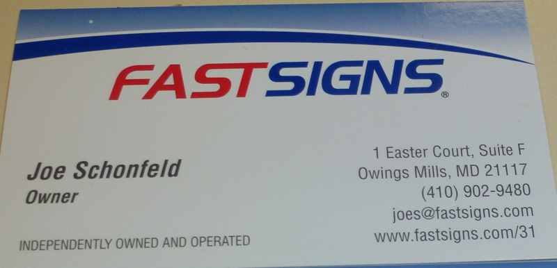 FASTSIGNS Owings Mills
