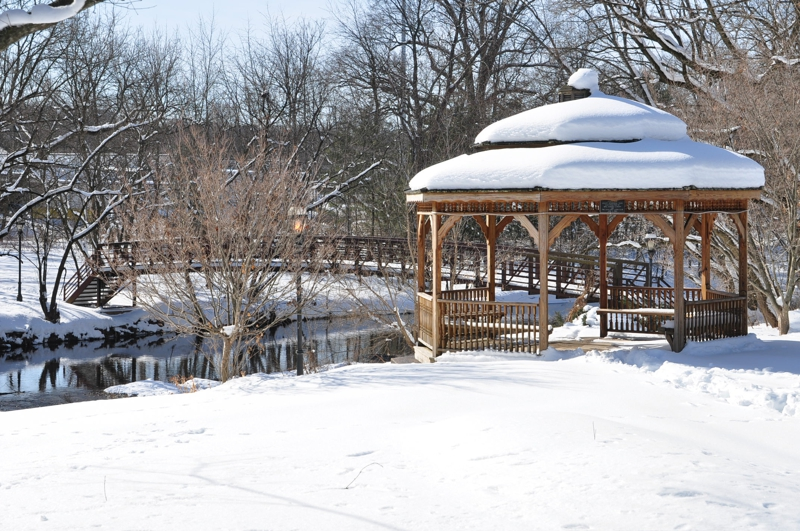 a winter 39 s view of lindenfield homes for sale in lindenfield chalfont pa in bucks county