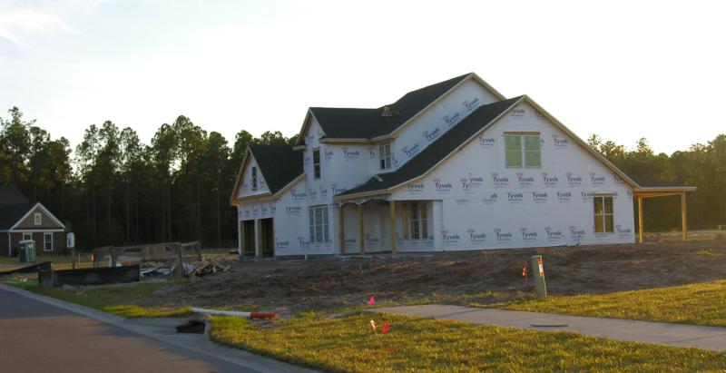 Two Creeks Drees Homes Wyngate under construction
