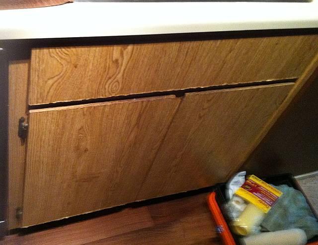 Kitchen Base Cabinet Water Damage In Sacramento You Hiding Something