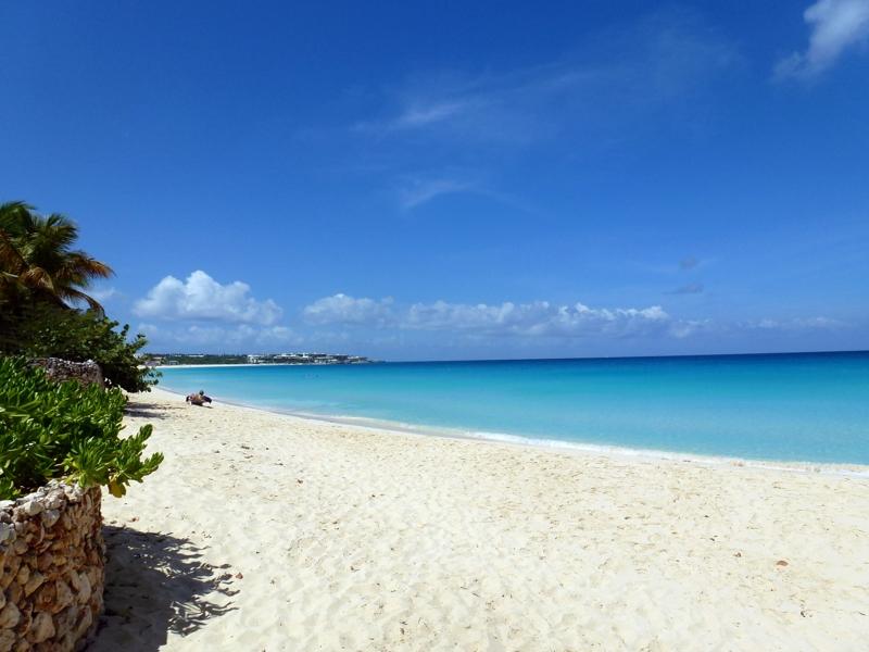 Anguilla Beach and Ocean
