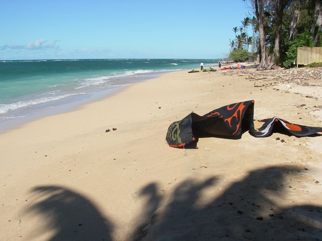 Spreckelsville Maui HI - a beautiful place to launch your kite or windsurfer