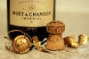 Champagne and corks