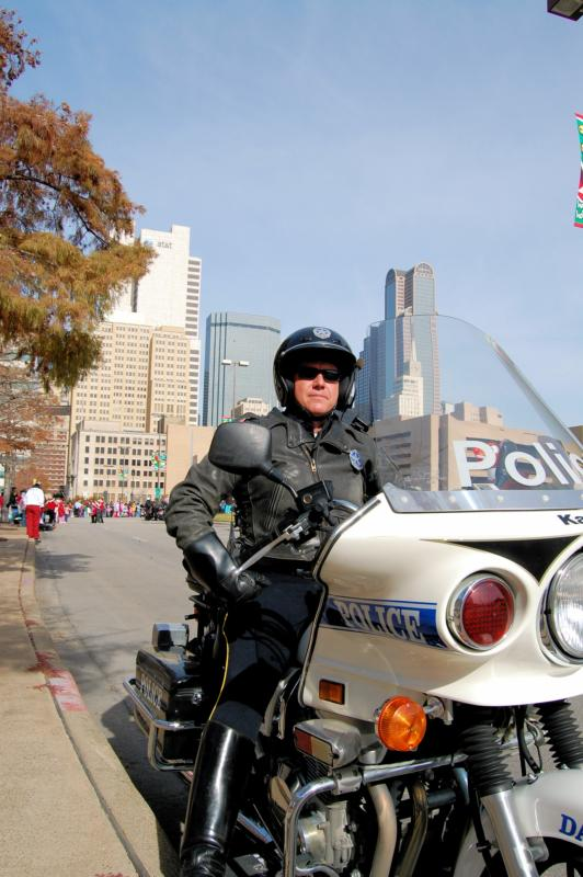 Picture of Motorcycle Officer