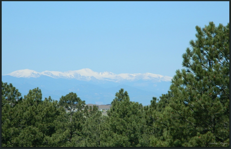Mountain Views from 10208 Cherokee Lane in Parker