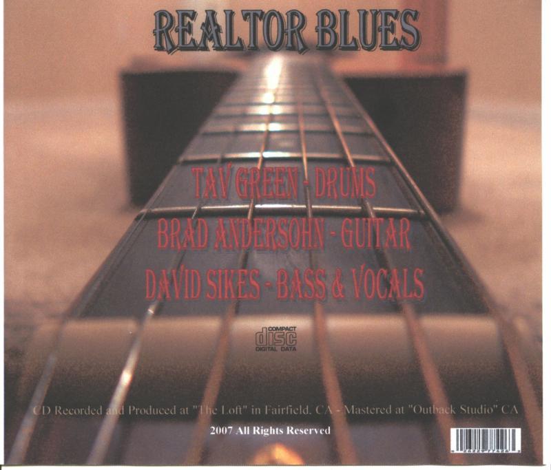 Realtor Blues CD Back