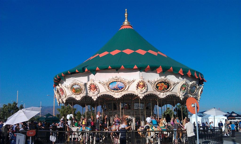 Carousel at OC great Park
