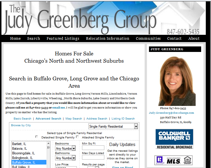 Search for homes in Rolling Hills Buffalo Grove