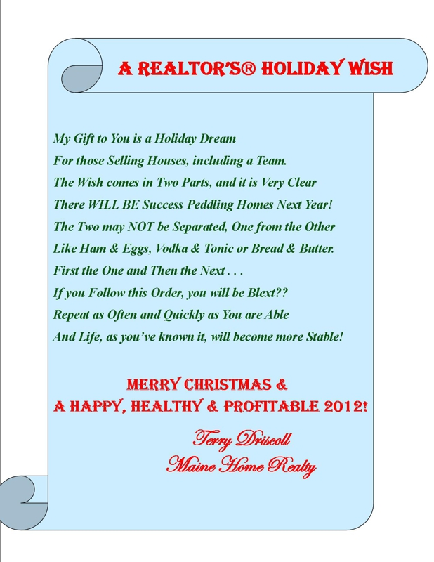 Holiday greeting card contest a realtors holiday wish m4hsunfo