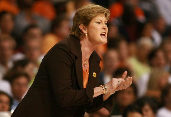 pat summitt, The University of Tennessee Lady Vols Basketball Coach.