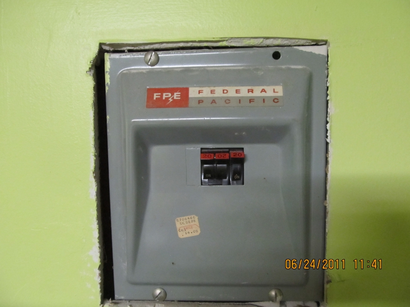 Federal Pacific Electrical Panels - Information that could ... on