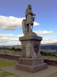 Robert the Bruce statue image Michelle Carr Crowe February 10 2013 blog