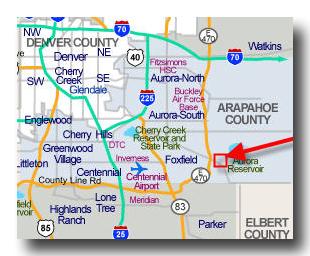 Se Colorado Map.Denver Burbs Town Talk Exploring Southeast Aurora Colorado