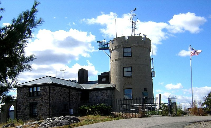 blue hills weather observatory