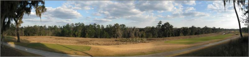 Southern Hills Plantation Club Golf Course Panorama